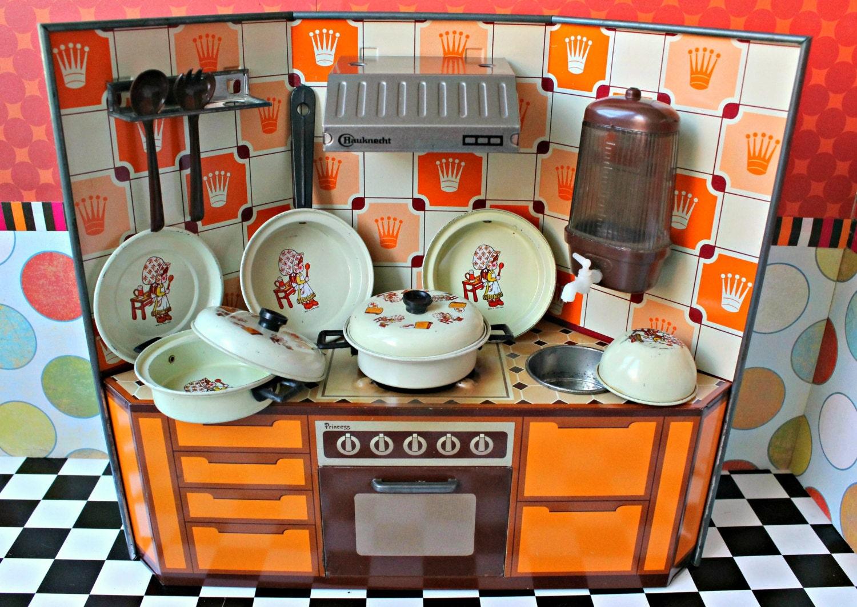 jouet vintage schopper allemand po le casseroles cuisini re. Black Bedroom Furniture Sets. Home Design Ideas