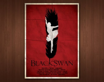 Black Swan Poster (Multiple Sizes)