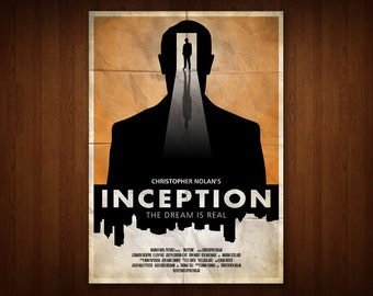 Inception Poster (Multiple Sizes)