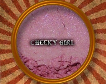 Pink Mineral Makeup Blush - Cheeky Girl