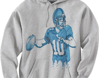 Eli Manning Officially Licensed NFLPA New York Hoodies S-3XL Eli Manning 10 Text B
