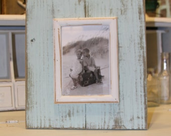 Handmade Reclaimed Wood Frame 5 X 7