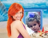 Digital Customized letters and pictures from The little Mermaid in your e-mail -you can choose the text- perfect birthday present for girls