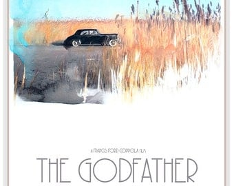 "THE GODFATHER Poster 24""x36"" - Free Shipping in United States"