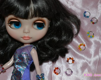 Blythe doll bangle/bracelet Monster High Pullip beads Your choice of colour