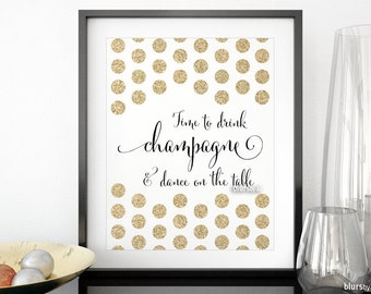 Popular Items For Drink Champagne On Etsy