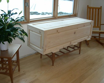 The Simple Pine Casket