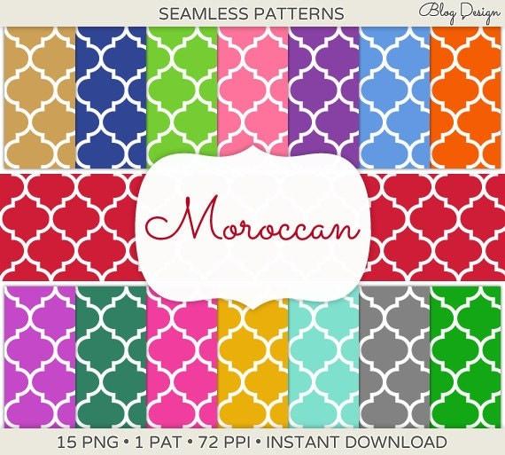 Seamless Moroccan Tile...