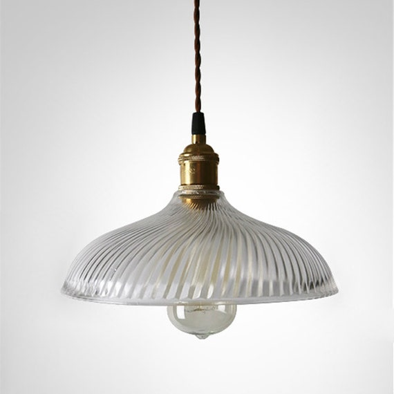 Country Style Glass Ceiling Lamp Ceiling By LightwithShade