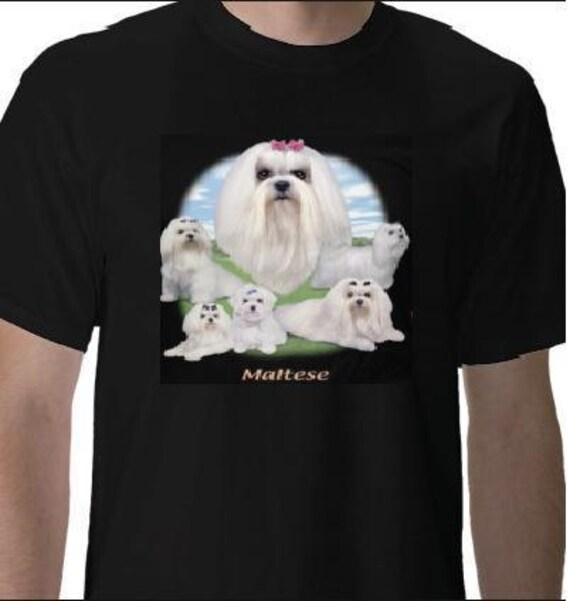 maltese   lawn dog tshirts clothes t shirts tees tee t shirt designs