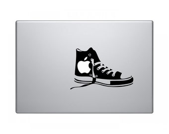 Laptop decal – Laptop Sticker – Macbook Pro decal – Macbook Air decal – Car window – Hipster - Converse Shoes