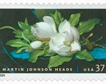 12 Unused 2004 Magnolias - Postage Stamps Number 3872