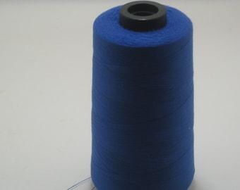 Royal Blue Sewing Thread 5000yd Cone, General Use Polyester Thread  sku9334