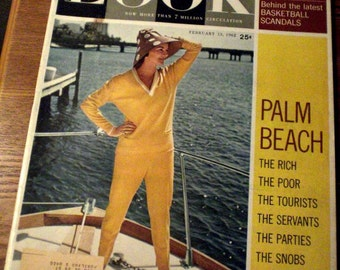 1962 Look Magazine - Palm Beach