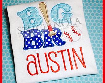 Big Bro Baseball Shirt or Bodysuit
