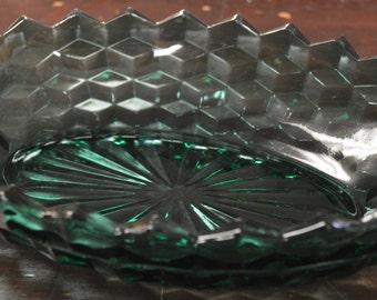 Fostoria American Turquoise Bowl