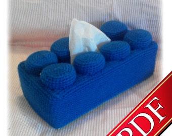 PDF Crochet - Brique à Mouchoirs - Tiamat Creations