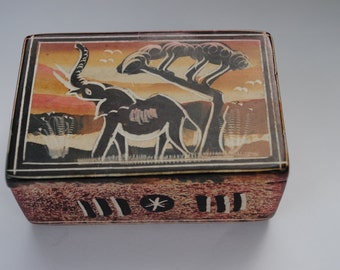 African stone box