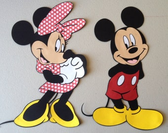 Mickey Mouse & Minnie Mouse party decoration