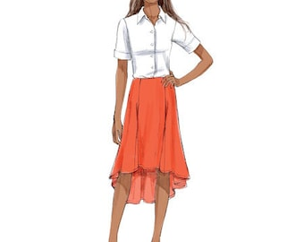 Butterick Sewing Pattern B6059 Misses' Gored Skirts