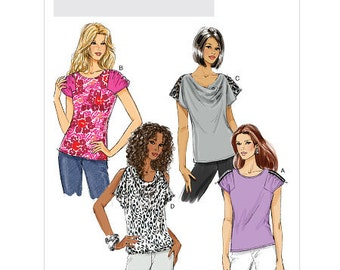 Butterick Sewing Pattern B5645 Misses' Top