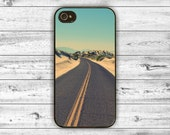 iPhone 4 iPhone 5 / Samsung  Black Case, iphone case, hard case road
