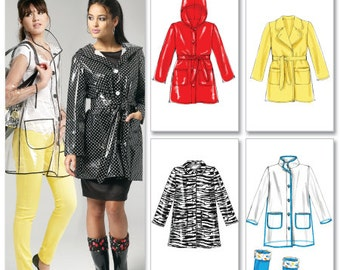 OUT of PRINT McCall's Pattern M6517 Misses' Jacket, Belt and Boot Liners