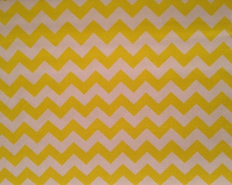 "1/2"" Chevron Zig Zag Yellow by the yard"