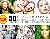 40 + 10 HDR Lightroom Presets and Brush -  DSG024
