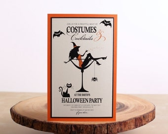 Halloween Party Invitations, Halloween Invitations - look 01