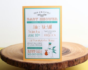 Baby Shower Invitation- look 8