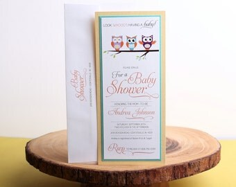 Baby Shower Invitation- look 16