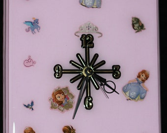 Sophie the first handmade clock