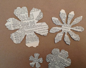 Vintage Tattered Florals Die Cuts, set of 20