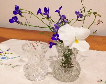 vintage posy vases