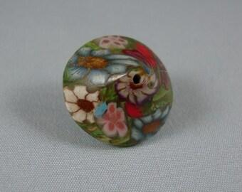 Flowery Spiral bead