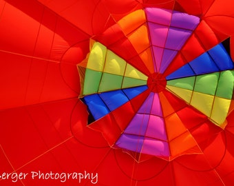 Inside a Hot Air Balloon Photo