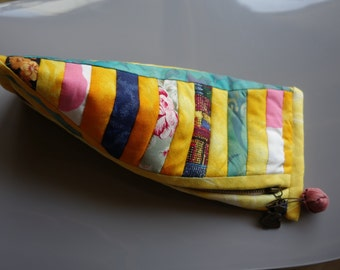 Trousse japanese Patchwork with zipper