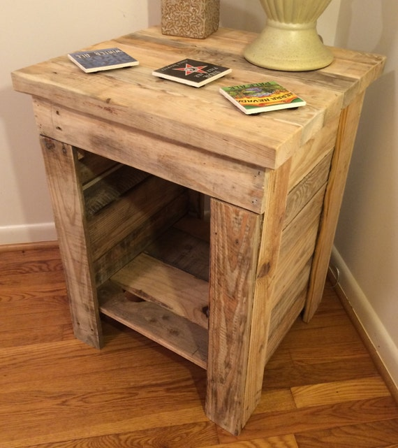 Rustic Wood Pallet Coffee Table: Items Similar To End Table, Nightstand, Table, Coffee