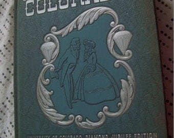 1951 Boulder  College School Yearbook University of Colorado The Coloradan