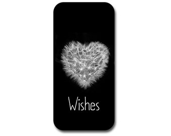 Dandelion Phone Case, Personalized Phone Case, iPhone, Samsung Galaxy, Custom Phone Case, Wishes
