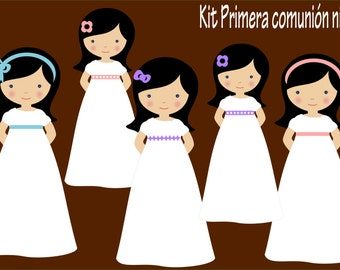 Kit digital girls first communion
