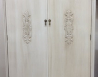 Antique Wardrobe Cabinet