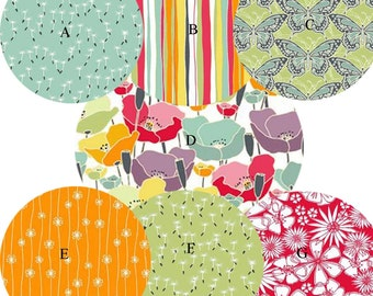 Nursery Bedding Crib Bedding Baby Bedding Meadow Floral Choose your fabrics
