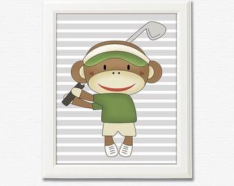 Golf Nursery Etsy