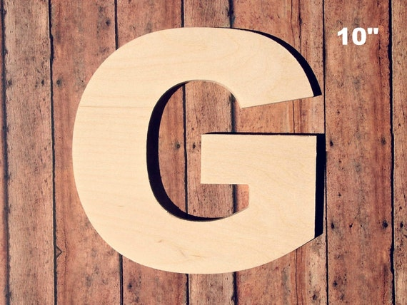 unfinished wood letters unfinished 10 decorative wooden letter g 10 inch 25367