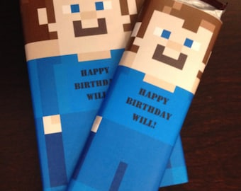 Candy Bar Labels for Birthday