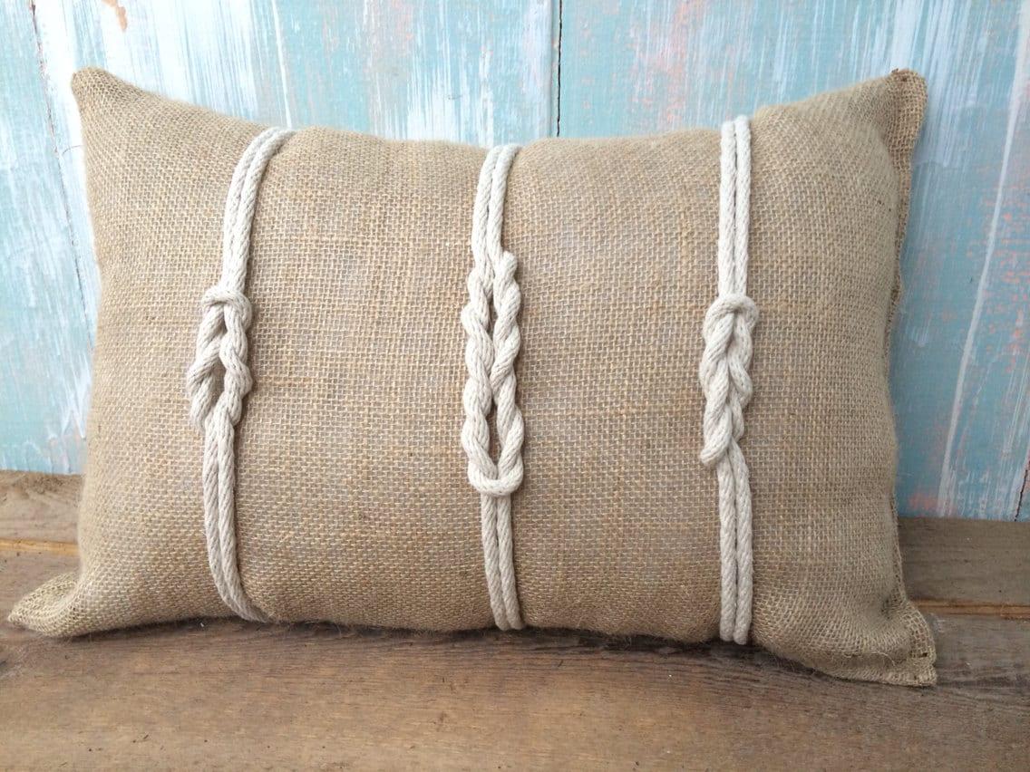 Nautical Rope Pillow
