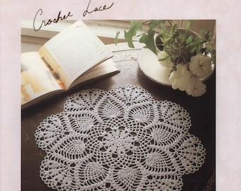 Crochet lace - crochet doily patterns - japanese craft ebook - japanese crochet - ebook - PDF - instant download