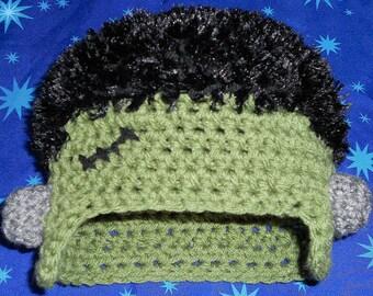 Frankenstein hat - any size newborn to child